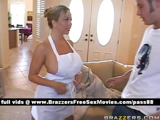 mature naughty blonde bitch at house