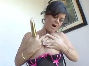 mom craves large wang but now gold sex toy hv