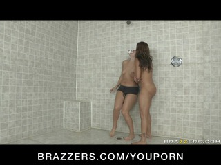 huge breast brunette woman star dominates rookie