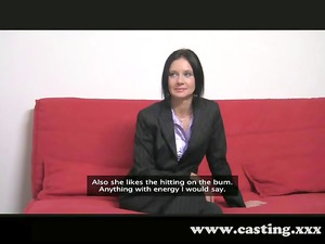casting darkhead business babe