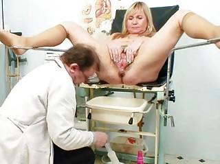 giant boobs albino older  hirsute vagina exam