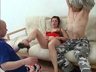 milf has bottom porn with her son and his fucker