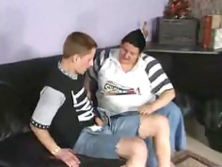 chubby granny german