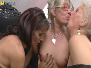 mothers at lesbo fuck with not their grandmothers