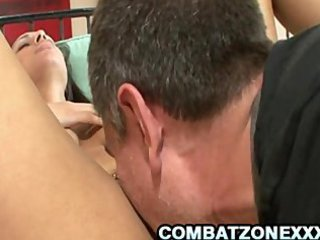 wonderful busty bethany benz drilling and maiden