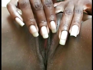 dark lady masturbation