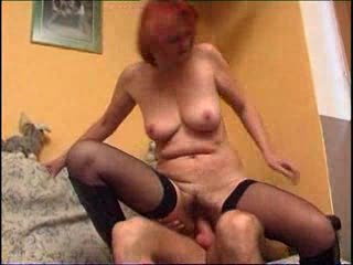 redhaired cougar and fresher male m27
