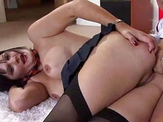 naughty woman acquiring pierced by steve glide