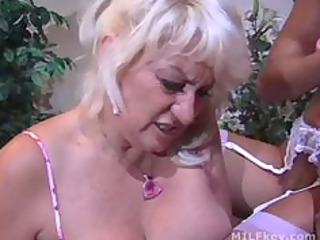 busty milf whore drilled