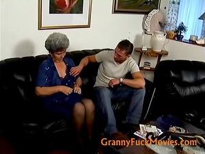 elderly shila with her more juvenile friend