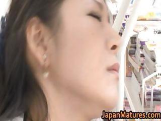 ayane asakura eastern  mature babe has public