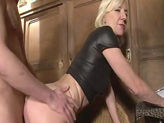 bleached mature charlie banged right in an dolf