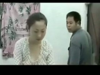 chinese lady tasted by her dude
