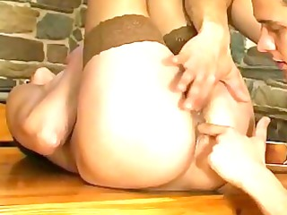 stacked mommy offering a guy jumbo ass service