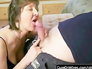 inexperienced cock sucking and cumshot compilation