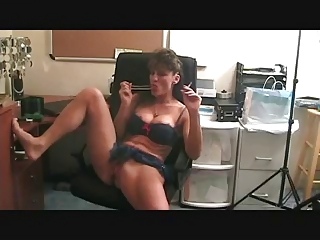 awesome grownup smoking and playing