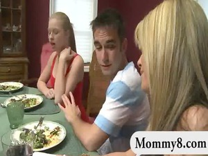 young and stepmom share her boyfriends favorable