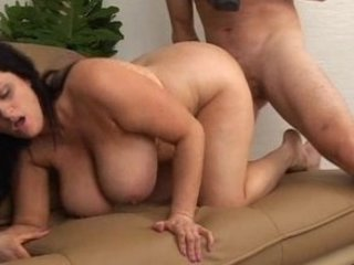 curvy lady with huge extremely impressive bossom