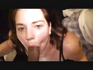 housewife deepthroating large dark dick