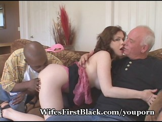 wifes kitty squeezing black cum out