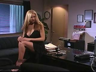 super lady pierced inside the bureau
