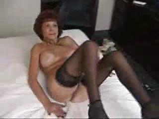 naughty grandma licks and gangbangs