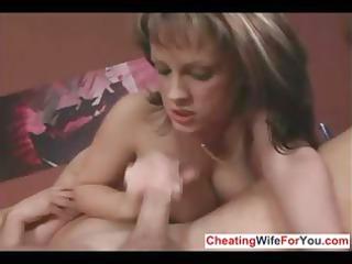 mature mature babe give great handjob