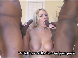 white housewife pierced by black lovers