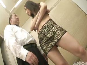 nozomi mashiro obtains matters into hand as she