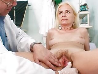 thin furry old girl nurse treatment