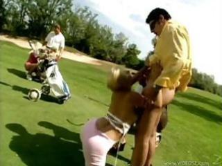 woman bottom group fuck at golf nightclub