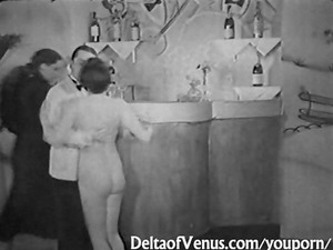 authentic vintage sex 1930s - ffm three people