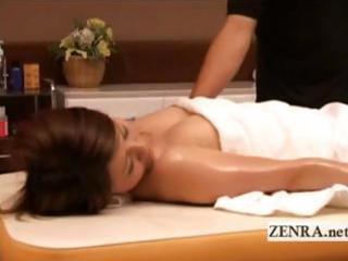 pale nude japanese woman massaged inside orgasmic