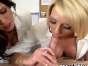 cfnm acquiring advantage of a dick