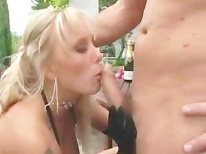 british chantelle takes shafted outside