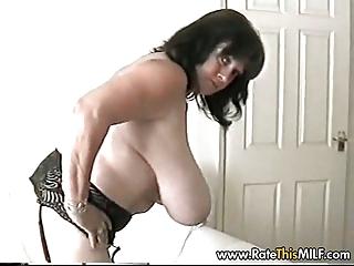 huge breast woman inside fishenets