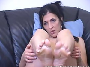 want a footjob the professor is prepared to give