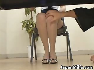 desperate japanese ladies licking and gangbanging