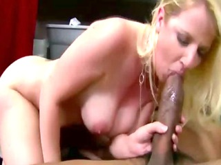 he rocks her woman pussy on the dining room floor