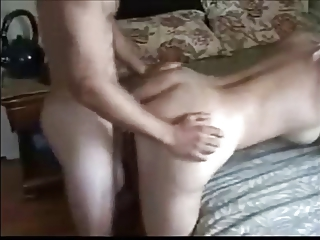 hot albino woman teasing arse with fresher male
