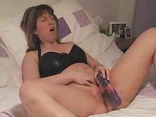 housewife on her get