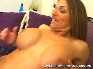 big titty milf boss drilled at workplace