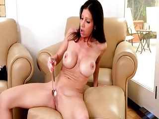 older  with her vibrator