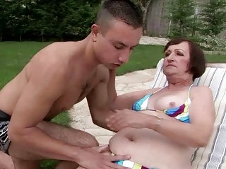 ugly elderly having fuck with fresh male