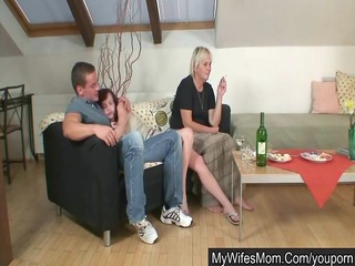 house party with her mom goes extremely bad