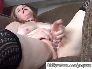 adorable grown-up babe has a chubby wet vagina