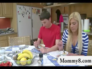 stepmom teaches young how to fuck her fucker