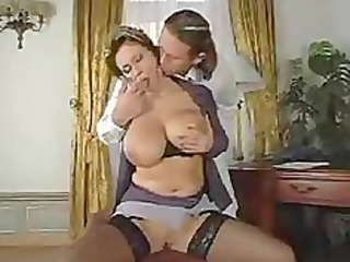 giant tite super milf has sex with man
