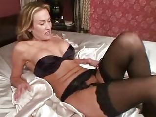 cougar into nylons devices her cave