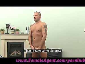 femaleagent. wonderful feet fetish casting